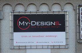 My-designs bedrijfsreclame