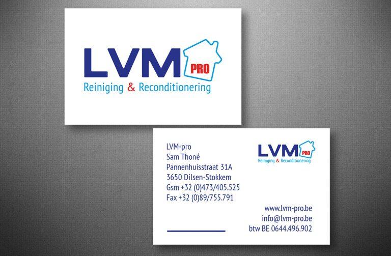 Naamkaartje LVM PRO