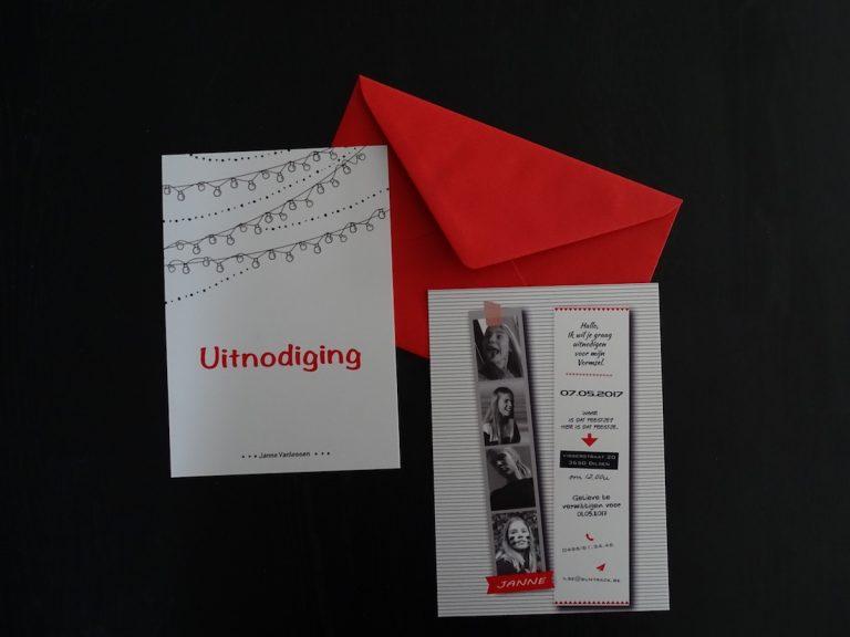 uitnodiging vormsel
