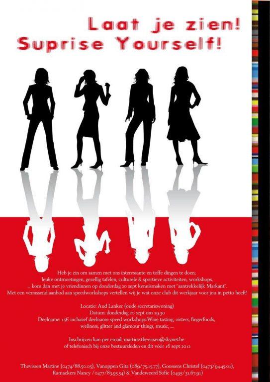 flyer vrouwen onderneming