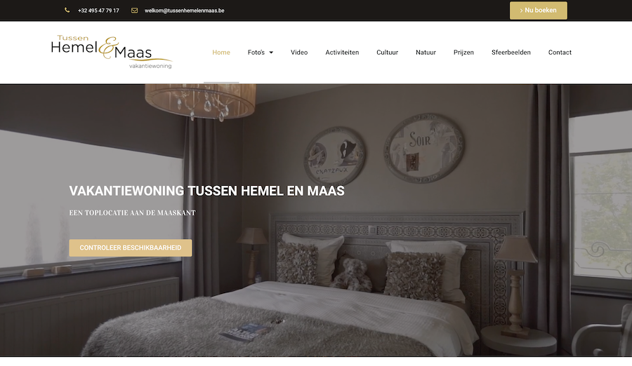 Vakantiewoning Tussen Hemel & Maas